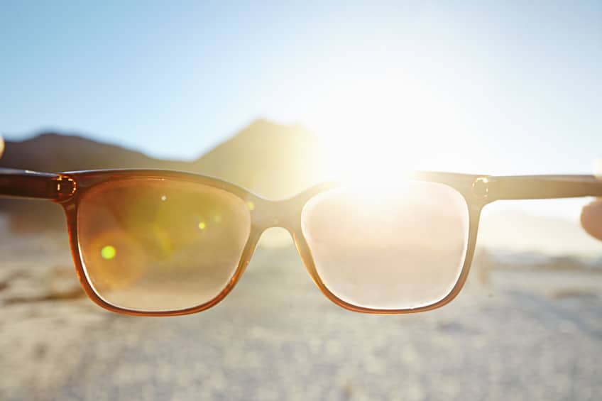 uv protection for glasses